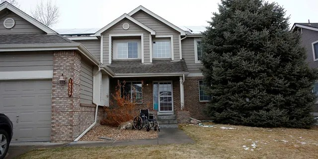 A general view of the family home of the King Soopers shooting suspect Ahmad al Aliwi Alissa, in Arvada, Colorado, taken on March 23.