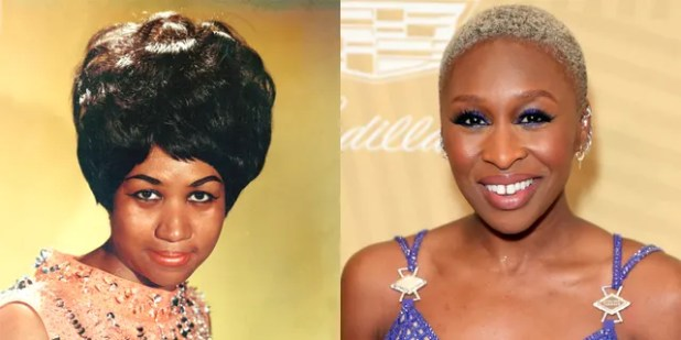 Aretha Franklin is played by Cynthia Erivo in 'Genius: Aretha'.  Franklin's family clarified that they have no ill will towards Erivo.