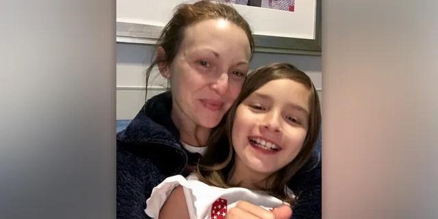 Elizabeth Scott and her 7-year-old daughter Liza. (Elizabeth Scott)