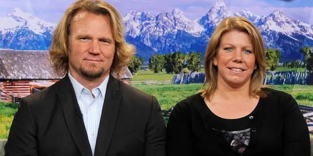 Kody Brown and his first wife Meri Brown of TLC's 'Sister Wives' fame.