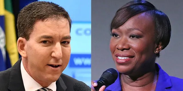 """Journalist Glenn Greenwald blasted far-left MSNBC host Joy Reid on Friday for a """"conspiratorial derangement"""" claim that Sen. Ron Johnson, R-Wis., is actually from Russia."""