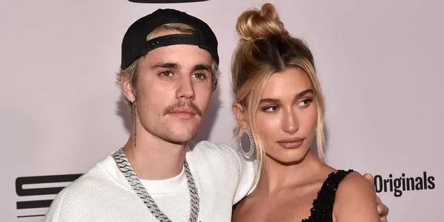 Hailey Baldwin shot down rumors that Justin Bieber 'mistreats' her. (Getty Images)