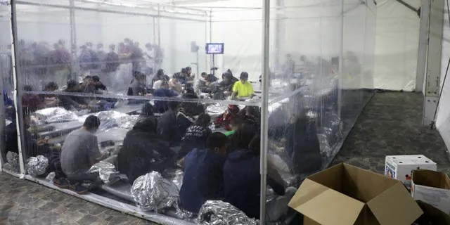 Temporary processing facilities in Donna, Texas, safely processes family units and unaccompanied alien children (UACs) encountered and in the custody of the U.S. Border Patrol. The facility will bolsters processing capacity in the RGV while the permanent Centralized Processing Center in McAllen is renovated.