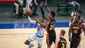 Knicks win 8th in row, top Hawks 137-127 OT as Randle soars