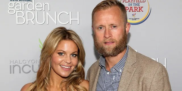 Candace Cameron-Bure (L) and Valeri Bure married in June 1996.