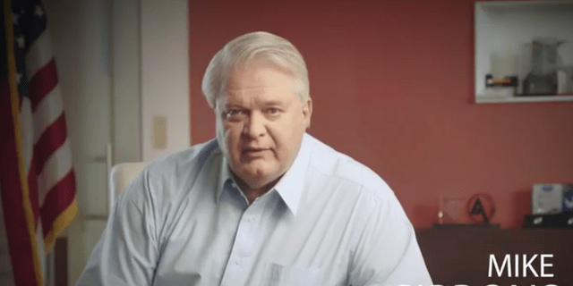 Ohio businessman Mike Gibbons in a campaign video announcing his candidacy for the Republican Senate nomination on April 13, 2021