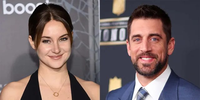 Aaron Rodgers and Shailene Woodley revealed that they fight over who gets to cuddle with the actress' dog.
