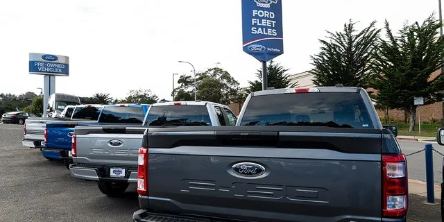 Pickup trucks are in strong demand.