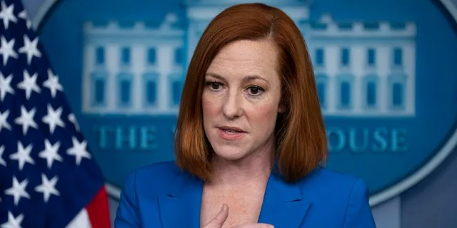 White House Press Secretary Jen Psaki speaks during a briefing at the White House, Monday, May 17, 2021, in Washington. Psaki defended President Biden against allegations from progressives that he hasn't done enough to push voting reforms. (AP Photo/Evan Vucci)