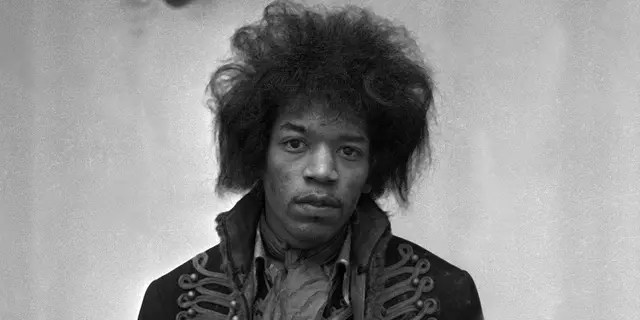 Jimi Hendrix was discharged for an alleged ankle injury. (Photoshot/Getty Images)