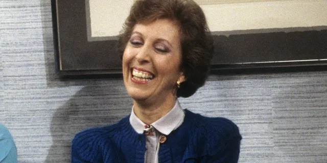 Actress Lois De Banzie in March 1987 on 'Who's the Boss?'
