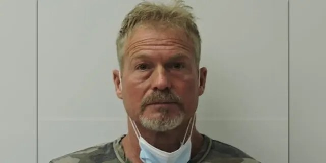 Barry Morphew's May 5, 2021 booking photo (Chaffee County Sheriff)