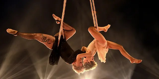 In this image released on May 23, Willow Sage Hart and P!nk perform onstage for the 2021 Billboard Music Awards, broadcast on May 23, 2021 at Microsoft Theater in Los Angeles, California.