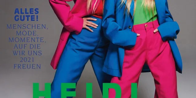 Heidi Klum and her daughter Leni appeared on Vogue Germany's January 2021 issue.