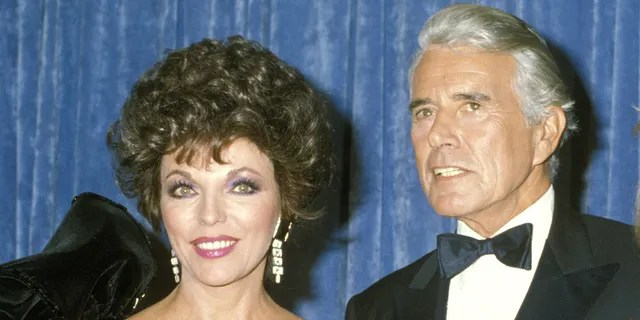 Joan Collins and John Forsythe starred in the hit '80s soap opera.