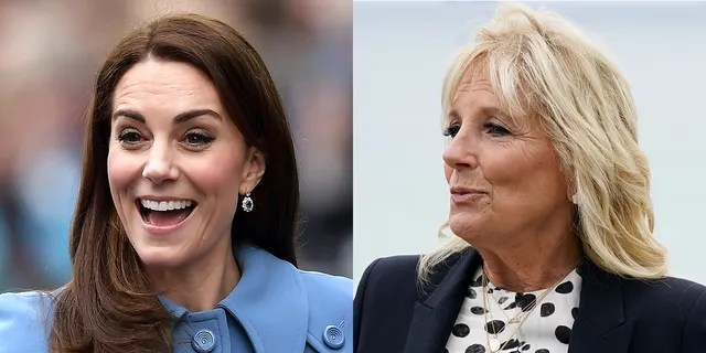 Kate Middleton, the Duchess of Cambridge and first lady Jill Biden will meet for the first time in Cornwall Friday.