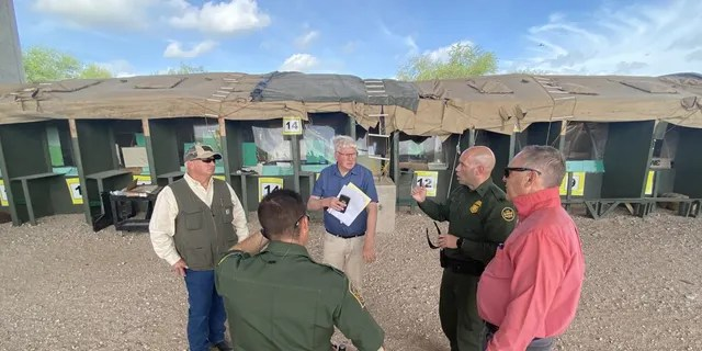 Rep. Andy Biggs provides video of illegal immigrants streaming across border, calls on Biden to act