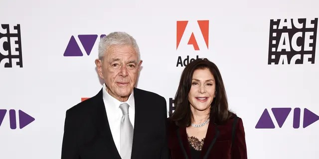 Director Richard Donner (L) and producer Lauren Shuler Donner attend the 70th Annual ACE Eddie Awards at The Beverly Hilton Hotel on January 17, 2020 in Beverly Hills, California. (Photo by Amanda Edwards/Getty Images)