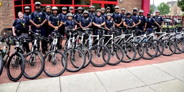 A new Washington D.C., police unit will be manned by officers on bicycles and scooters in high-crime areas, officials said Wednesday.