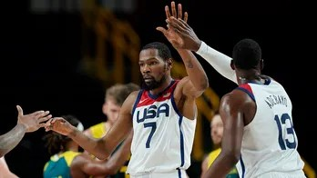 US men's basketball team advances to gold medal game after beating Australia