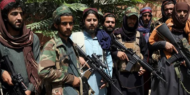 Taliban fighters are seen in Wazir Akbar Khan in Kabul, Afghanistan, Wednesday, Aug. 18, 2021. (Associated Press)