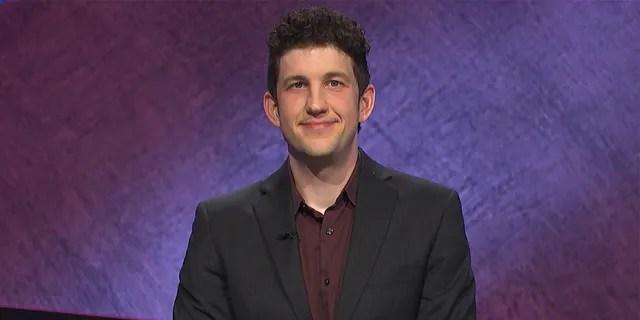 Matt Amodio celebrated his 20th consecutive 'Jeopardy!' win on Twitter.