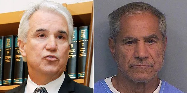 Los Angeles County District Attorney George Gascon, left, had no prosecutor at the hearing of Robert F. Kennedy, murderer Sirhan Sirhan, to plead that he should be kept behind bars.