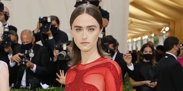 Ella Emhoff attends The 2021 Met Gala Celebrating In America: A Lexicon Of Fashion at Metropolitan Museum of Art on September 13, 2021 in New York City.