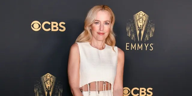 Gillian Anderson is nominated for her role on 'The Crown.'