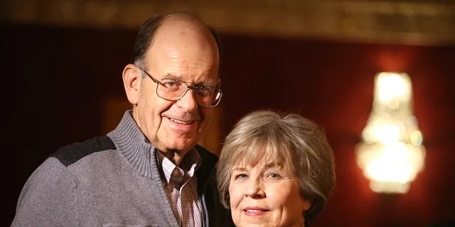 Nick and Diane Marson met after their U.S.-bound flight was diverted to Canada after the attacks on 9/11. The couple have been married for 19 years. (Getty Images)