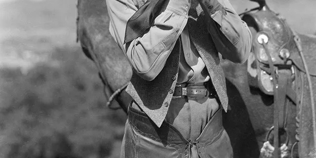 Gary Cooper was a great admirer of the outdoors, a trait that never left him even after achieving fame in Hollywood.