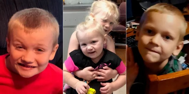 Authorities are search for Robert and Erika Herrington and their four children.