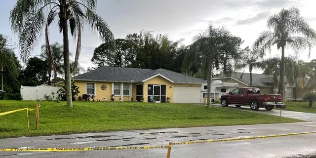 Charlene Guthrie, who lives across the street from Brian Laundrie's Florida home on Tuesday reacted to news of Gabby Petito's preliminary autopsy report. (Credit: Fox News, Stephanie Pagones)