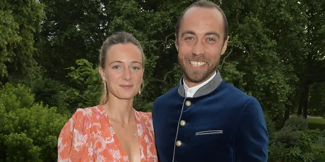 Alizee Thevenet and James Middleton got married in Septemeber.