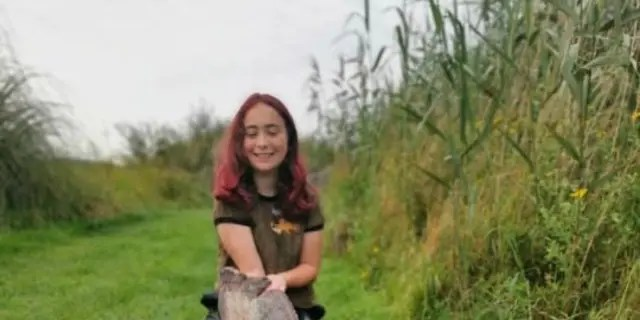 Hannah Truscott has been fishing with her father for almost a decade, according to SWNS.