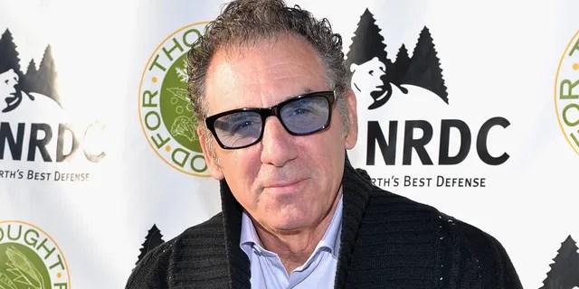 Michael Richards as Kramer in 'Seinfeld'.