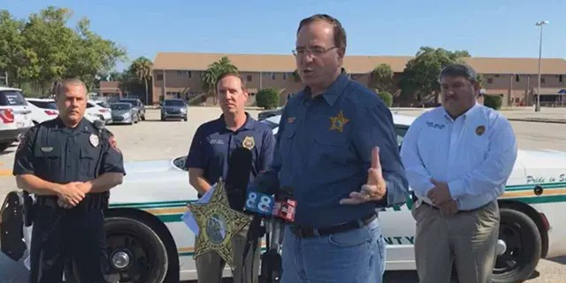 """Polk County sheriff gives press conference after """"active shooter rampage"""""""