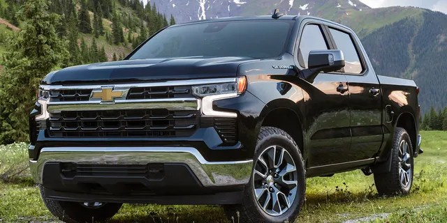 The Silverado LT trim is the lowest-priced model that gets the new interior.