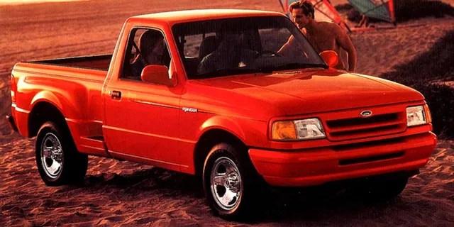 The 1993 Ranger Splash featured a flareside body.