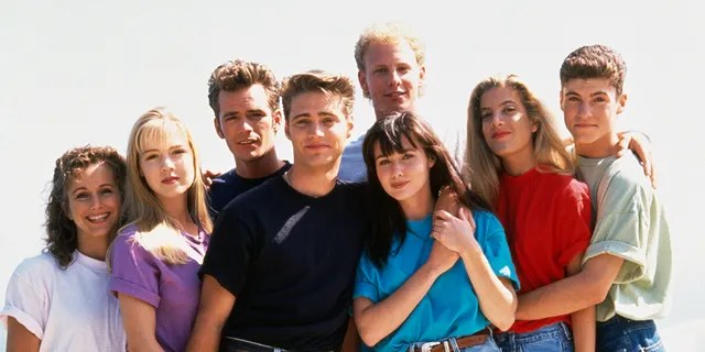 Spelling and Perry starred together in 'Beverly Hills, 90210.'