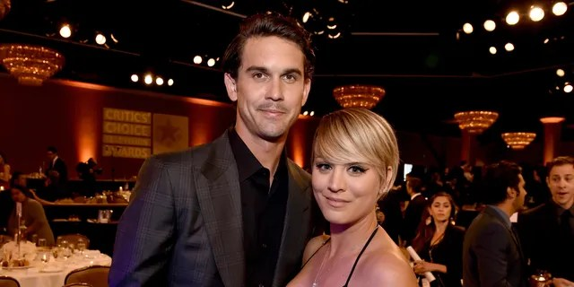 Actress Kaley Cuoco and tennis player Ryan Sweeting attend the 4th Annual Critics' Choice Television Awards at The Beverly Hilton Hotel on June 19, 2014 in Beverly Hills, California.