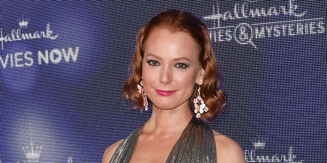 Actress Alicia Witt attends Hallmark Channel and Hallmark Movies & Mystery Summer 2019 TCA Press Tour event at a private residence on July 26, 2019 in Beverly Hills, California.