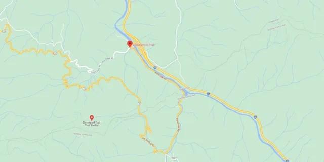 Waterville Road in Hartford, Tenn. (Google Maps)
