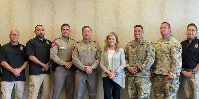 Sen. Marsha Blackburn, R-Tenn., was briefed by law enforcement officials on the border crisis (Fox News)