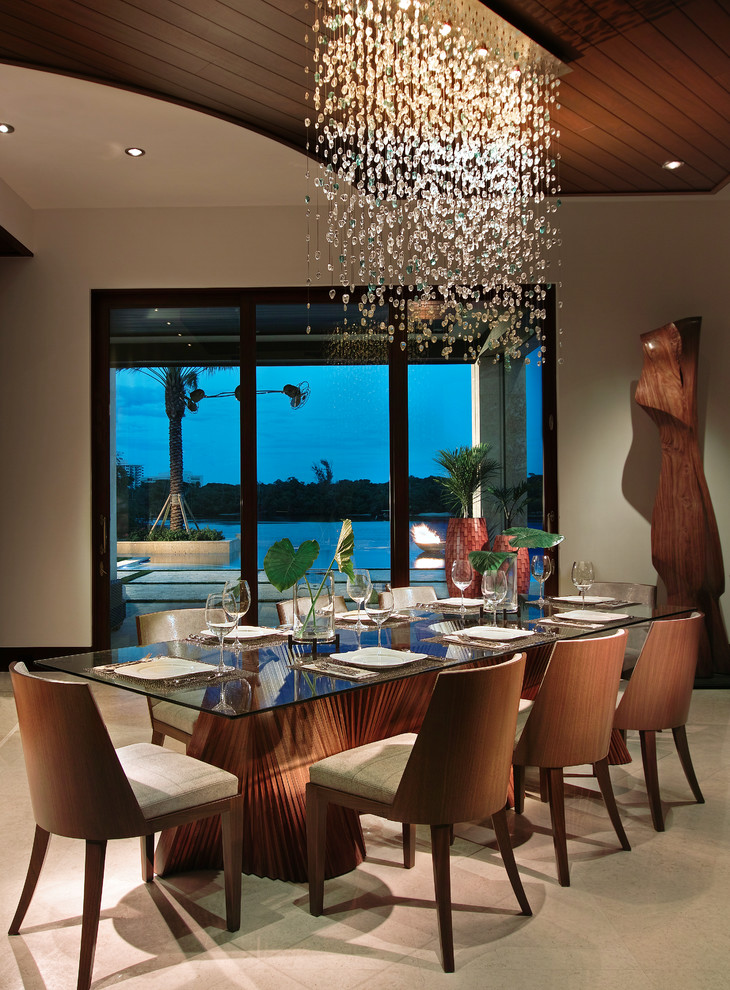 10 Beautiful Dining Rooms With Hanging Lights