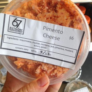A fan favorite- Pimento Cheese, in our To Go cooler!  Pick one up today!