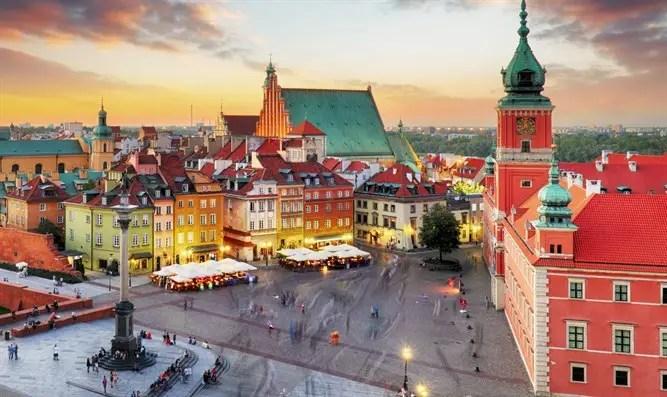 Manifestantes en Polonia: los judíos trajeron Corona - Canal 7