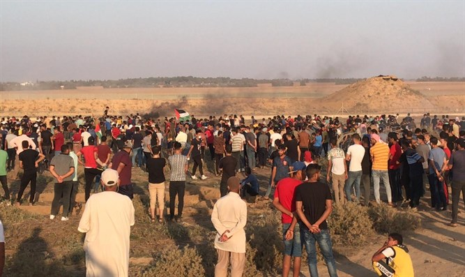 Los palestinos se acercan a la valla - respondieron las FDI - Canal 7