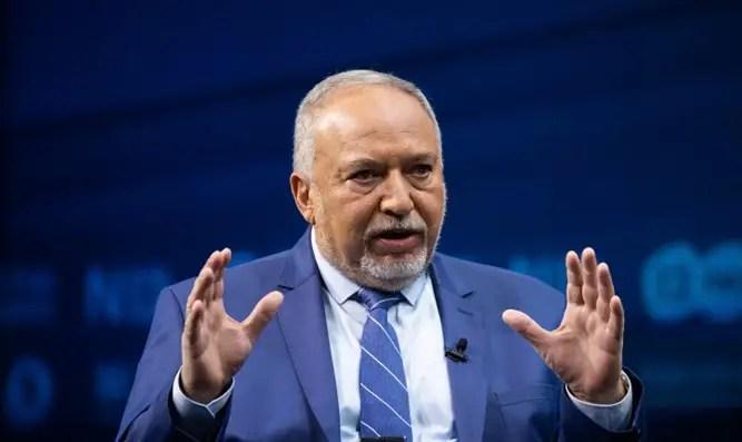 Ministro de Finanzas Avigdor Lieberman