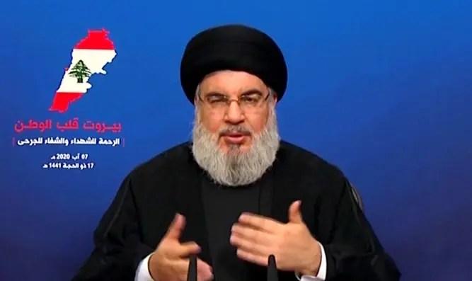 Miedo: Nasrallah se aprovechará del caos en el Líbano - Canal 7